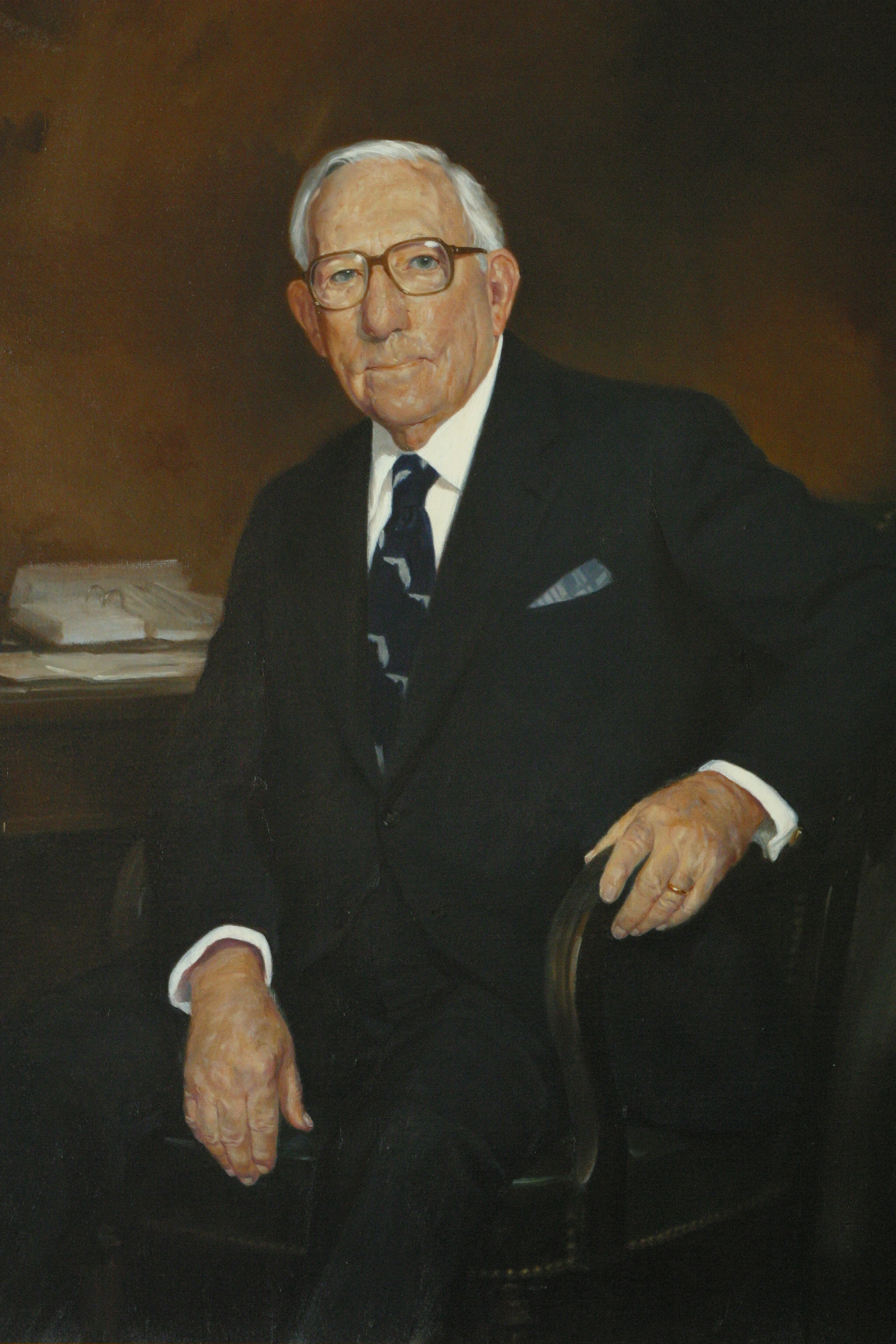 Portrait of Pepper in the Collection of the U.S. House of Representatives